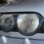 ヘッドライト磨き&クリアコーティング、BMW X5のヘッドライトが甦る。