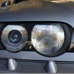 ヘッドライトコーティング施工、BMW X5が入庫しておりました。