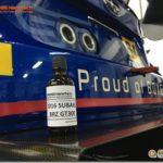STIチームレーシングカーにもDIAMOND9Hが施工されています!
