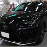 ガラスコーティング施工、名古屋市昭和区よりレクサスNX300h。