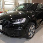 ガラスコーティング 愛知県日進市より アウディQ2 新車 入庫です。