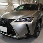 ガラスコーティング 名古屋市東区より レクサスUX 新車 入庫です。