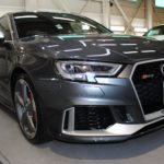 ガラスコーティング 名古屋市中川区より Audi RS3 新車 入庫です。