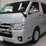 ガラスコーティング 三重県鈴鹿市より ハイエースワイド 新車 入庫です。