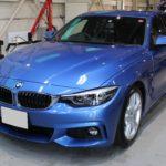 ガラスコーティング 愛知県日進市より BMW 420i 新車 入庫です。