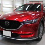 ガラスコーティング 名古屋市天白区より マツダ  CX-5 新車 入庫です。
