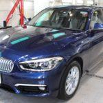 ガラスコーティング 名古屋市名東区より BMW 118d 新車 入庫です。
