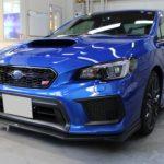 ガラスコーティング 名古屋市北区より スバル  WRX 新車 入庫です。