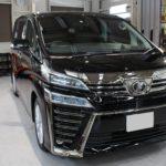 ガラスコーティング 名古屋市緑区より トヨタ ヴェルファイア 新車 入庫です。