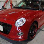 ガラスコーティング 名古屋市千種区より ダイハツ コペンセロ 新車 入庫です。