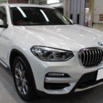 ガラスコーティング 愛知県豊田市より BMW X3  入庫です。