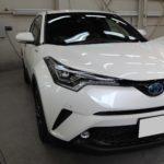 ガラスコーティング 愛知県蒲郡市より C-HR 新車 入庫です。