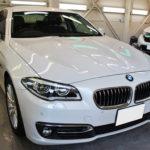 ガラスコーティング 愛知県東海市より BMW 528i 入庫です。