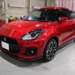 ガラスコーティング 愛知県春日井市より スイフトスポーツ 新車 入庫です。