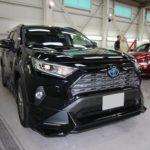 ガラスコーティング 名古屋市北区より トヨタ RAV4 新車 入庫です。