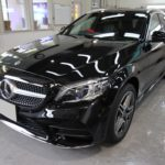 ガラスコーティング 愛知県豊川市より メルセデスベンツ C220d 新車 入庫です。