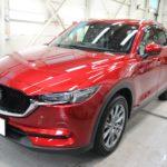 ガラスコーティング 愛知県岡崎市より マツダ   CX-5 新車 入庫です。