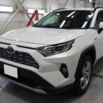 ガラスコーティング 名古屋市天白区より トヨタ  RAV4  新車 入庫です。