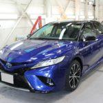ガラスコーティング 愛知県犬山市より トヨタ カムリ 新車 入庫です。