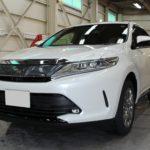 ガラスコーティング 愛知県豊田市より トヨタ ハリアー 新車 入庫です。