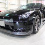 ガラスコーティング 愛知県刈谷市より 日産 GT-R 入庫です。
