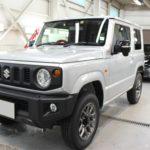 ガラスコーティング 愛知県豊田市より スズキ ジムニー 新車 入庫です。