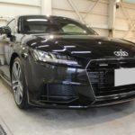 ガラスコーティング 三重県員弁郡より Audi TT 新車 入庫です。