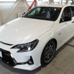 ガラスコーティング 愛知県豊田市より MARK-X GRMN 新車 入庫です。