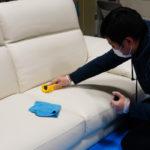 【番外】NATUZZI 高級レザーソファーへのコーティング、ご依頼いただきました!
