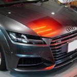 Audi TTS[デイトナグレー] ミディアムポリッシュ × Diamond9H 5層。