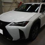 ガラスコーティング 愛知県春日井市より LEXUS  UX250h 新車 入庫です。