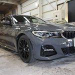 ガラスコーティング 愛知県豊明市より BMW   320dツーリング 新車 入庫です。