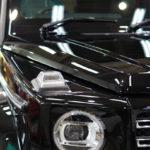 ベンツ   Gクラス「G350d」新車向けポリッシュ×WELLA High-Q コーティング施工で入庫。