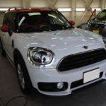 ガラスコーティング 名古屋市天白区より MINI クロスオーバー 新車 入庫です。