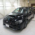 ガラスコーティング 名古屋市港区より スバル WRX STI 新車 入庫です。
