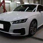 ガラスコーティング 名古屋市港区より Audi TT 新車 入庫です。
