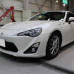 ガラスコーティング 名古屋市緑区より トヨタ 86 新車 入庫です。