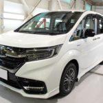 ガラスコーティング 名古屋市西区より ステップワゴン 新車 入庫です。