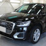 ガラスコーティング 愛知県長久手市より Audi  Q2 新車 入庫です。