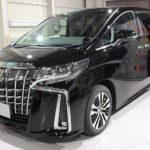 ガラスコーティング 名古屋市南区より アルファード 新車 入庫です。
