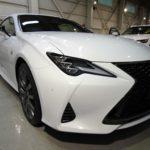 ガラスコーティング 名古屋市天白区より LEXUS  RC300 新車 入庫です。