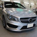 ガラスコーティング 愛知県豊田市より AMG  CLA45 新車 入庫です。