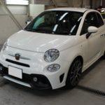 ガラスコーティング 名古屋市天白区より FIAT アバルト595 新車 入庫です。