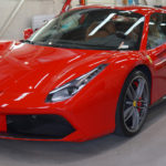 フェラーリ 深紅の488スパイダー プレミアムコーティング「Diamond9H」5層施工でさらなる深い艶と輝きを。