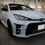 ガラスコーティング 愛知県安城市より トヨタ GRヤリス 新車 入庫です。