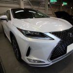 ガラスコーティング 名古屋市千種区より LEXUS  RX300 新車 入庫です。