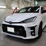 ガラスコーティング 名古屋市中川区より トヨタ GRヤリス 新車 入庫です。