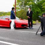 山﨑武司さん「フェラーリ  F430」コーティング施工&撮影ロケ…乞うご期待ください!
