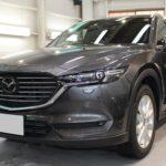 ガラスコーティング  愛知県長久手市より マツダ CX-8 新車入庫です。