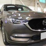 ガラスコーティング  愛知県長久手市より マツダ CX-5 新車入庫です。